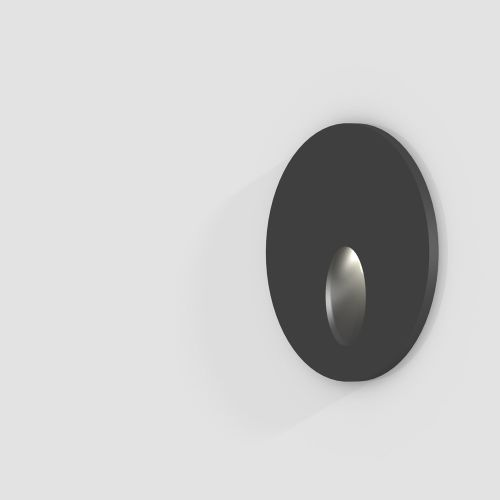 Wall Recessed Round Oval